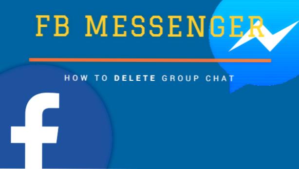 Löschen messenger gruppe Chat tipps