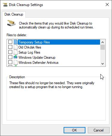 diskrensning windows 10